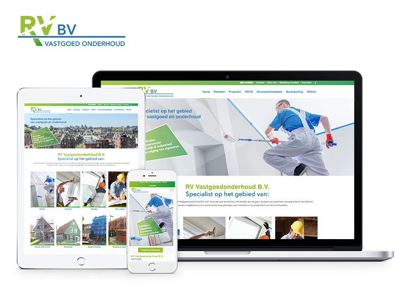RV Vastgoedonderhoud B.V. | Project Direct | Webdesign Wognum | Website bouwen Wognum | Wordpress Wognum | Grafische vormgever Wognum | SEO Wognum | Hosting | Wordpress training | Logo design Wognum | SSL Certificaten | Website onderhoud | Timo van Tilburg