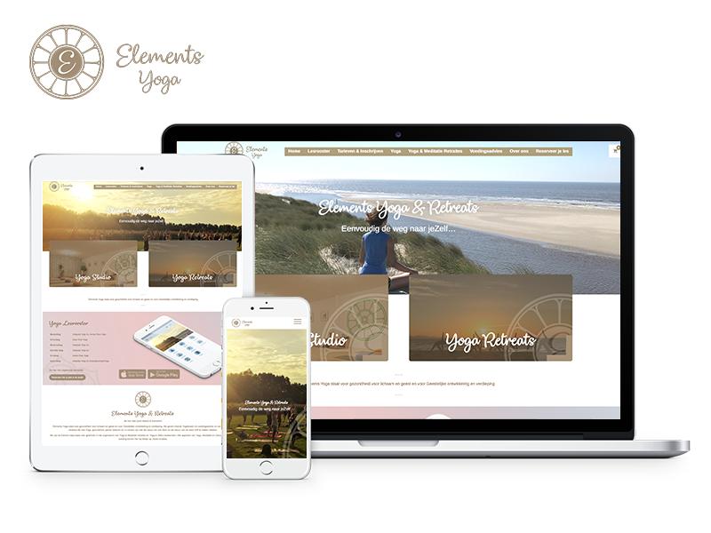 Elements Yoga | Project Direct | Webdesign Wognum | Website bouwen Wognum | Wordpress Wognum | Grafische vormgever Wognum | SEO Wognum | Hosting | Wordpress training | Logo design Wognum | SSL Certificaten | Website onderhoud | Timo van Tilburg